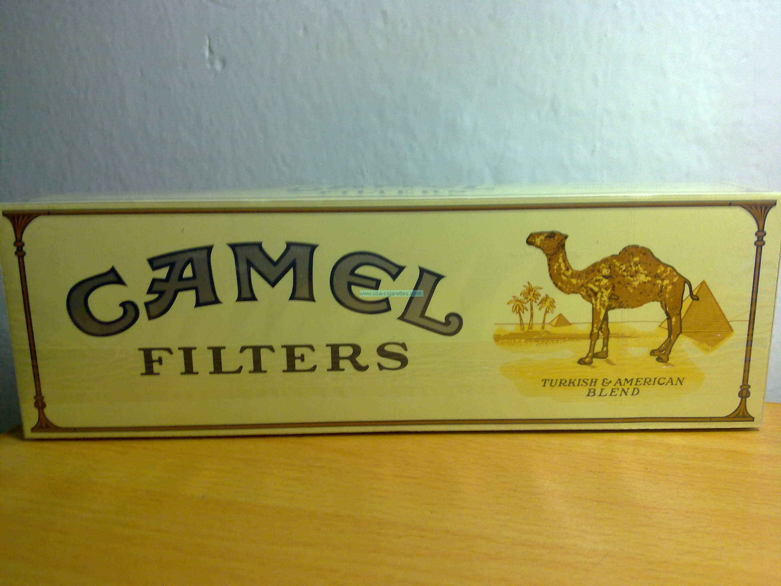 camel filters gold cigarettes